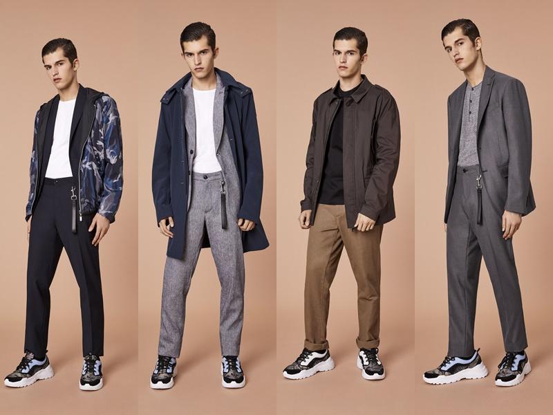 Лукбук мужской коллекции Trussardi Jeans весна-лето 2020 - 2