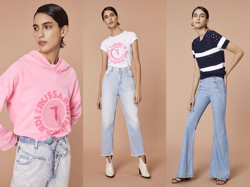 Лукбук женской коллекции Trussardi Jeans весна-лето 2020 - 2