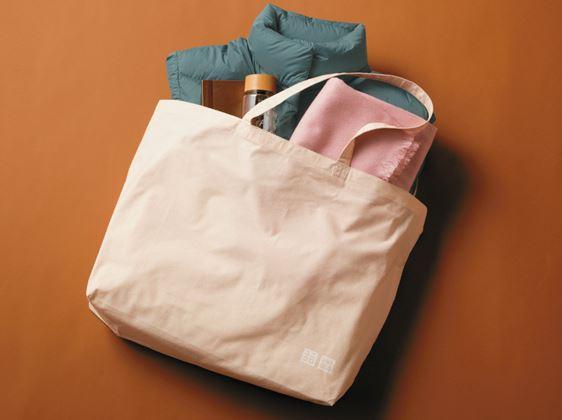 многоразовые сумки: UNIQLO становится экологичнее (уже в марте 2020)