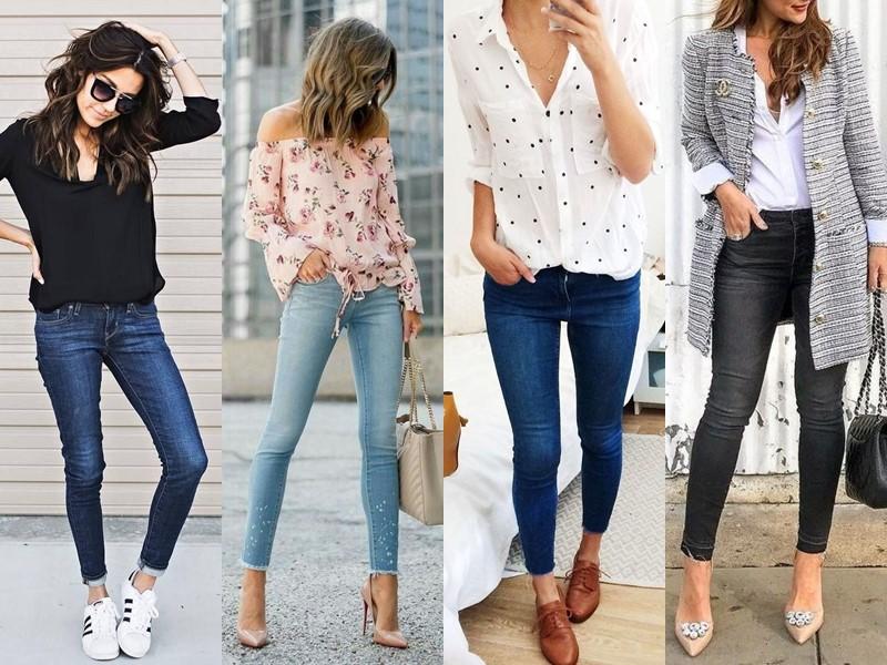 Популярные модели джинсов на все времена - Облегающие джинсы слим или скинни