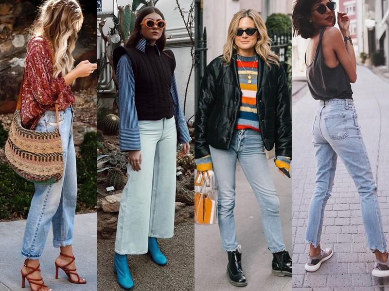 Популярные модели джинсов на все времена - Потёртые или «варёные» джинсы