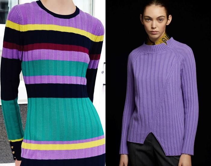 Ностальгический трикотаж: старомодные вязаные вещи - свитера вязки лапша