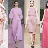 5 красивых и модных оттенков розового в одежде