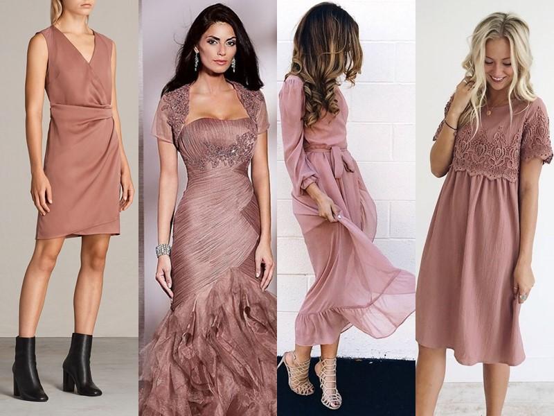 Красивые оттенки розового цвета в одежде - благородный пепел розы
