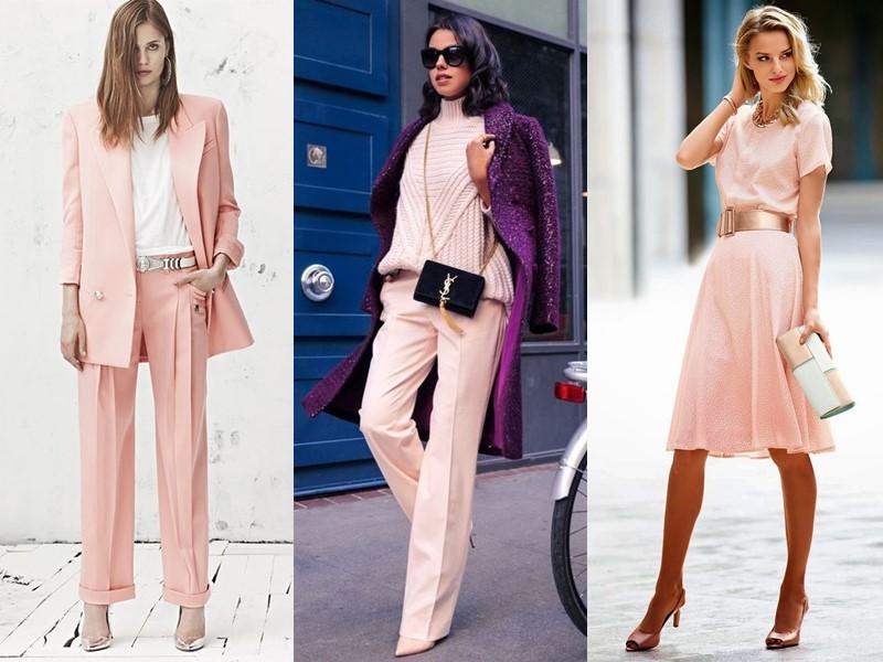 Красивые оттенки розового цвета в одежде - Розовый кварц