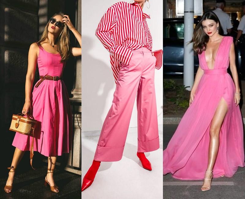 Красивые оттенки розового цвета в одежде - Сладкий розовый