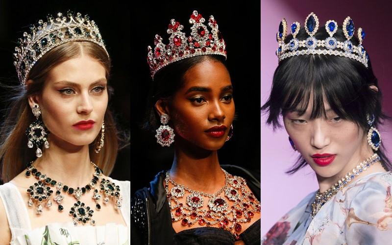 Стильные аксессуары, которые стесняются носить - Короны, тиары, диадемы
