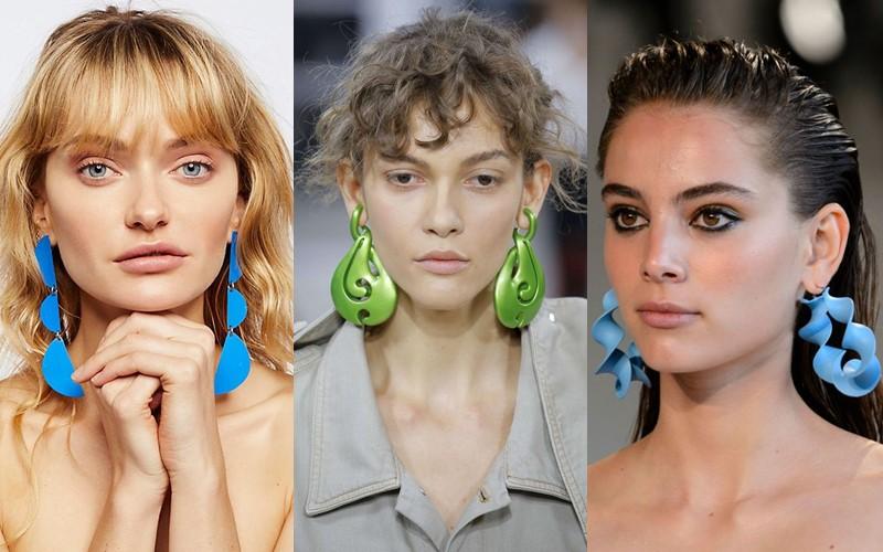 Стильные аксессуары, которые стесняются носить - Яркие пластиковые серьги