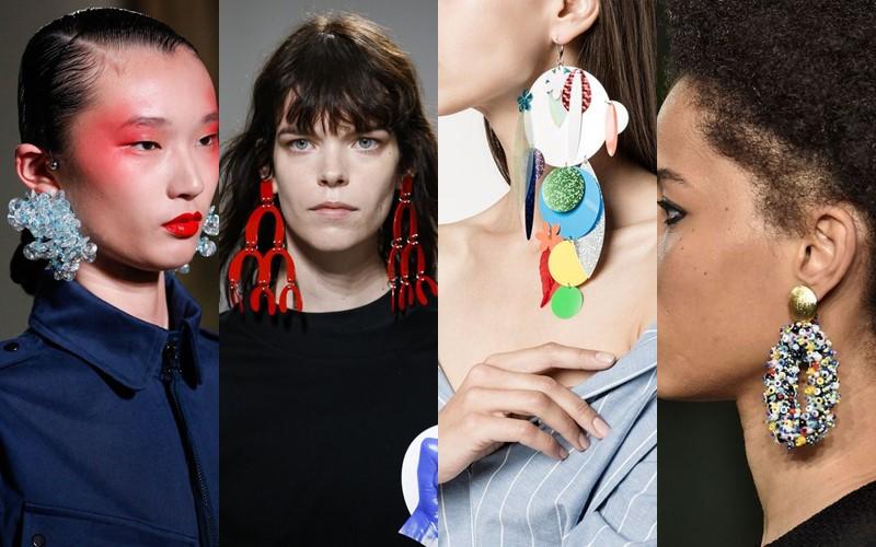 Стильные аксессуары, которые стесняются носить - пластиковые серьги