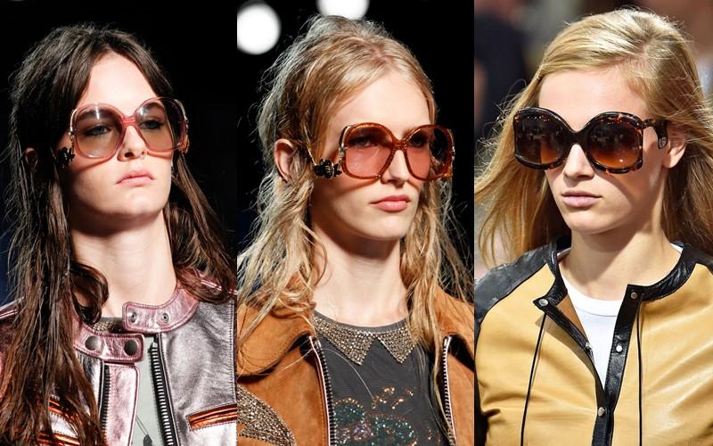Стильные аксессуары, которые стесняются носить - Очки-мухи в стиле 70-х