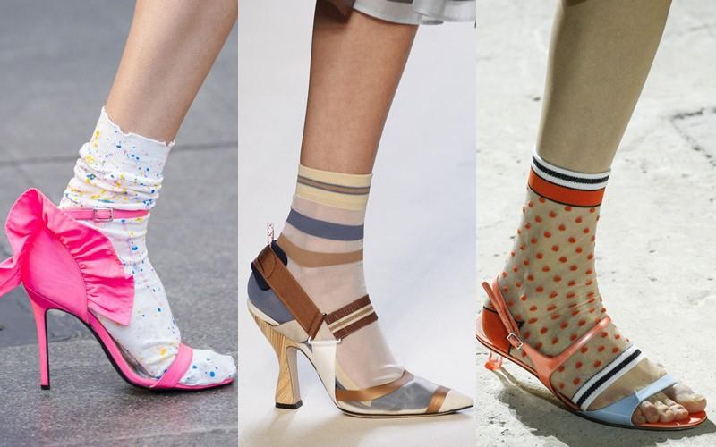 Стильные аксессуары, которые стесняются носить - Носки с туфлями