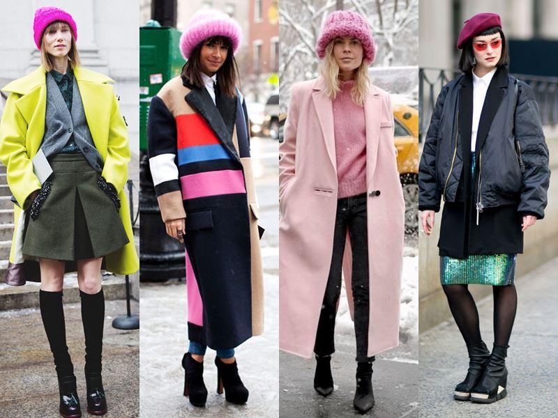 Стильные вещи осеннего гардероба - Розовая шапка или берет