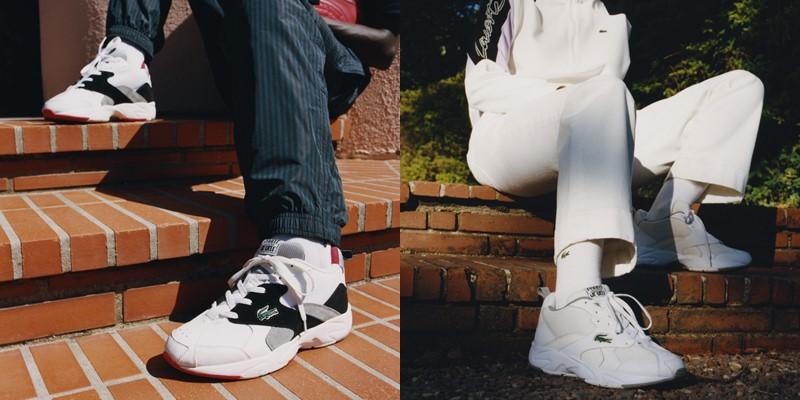 Коллекция женских и мужских кроссовок Lacoste Storm 86