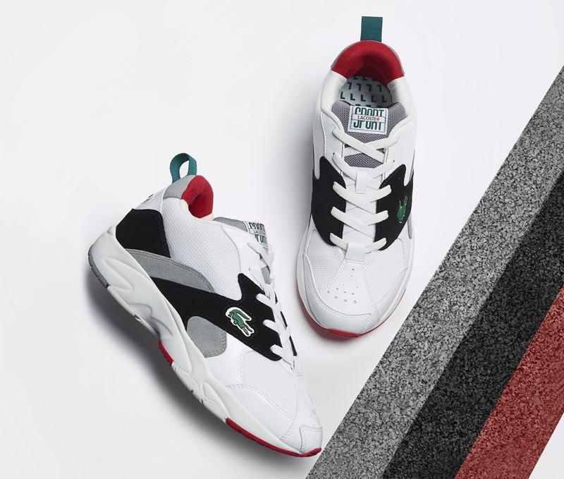 Коллекция женских и мужских кроссовок Storm 86 от Lacoste