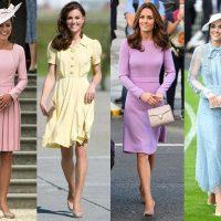 Сила цвета: какие оттенки платьев носит Кейт Миддлтон