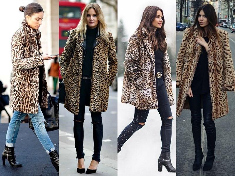 Тенденции в верхней одежде - боятся русские - Шуба или пальто с леопардовым принтом