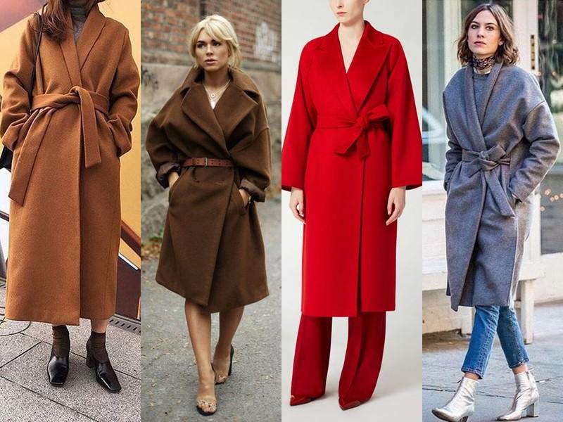 Тенденции в верхней одежде - боятся русские - Пальто-халат оверсайз