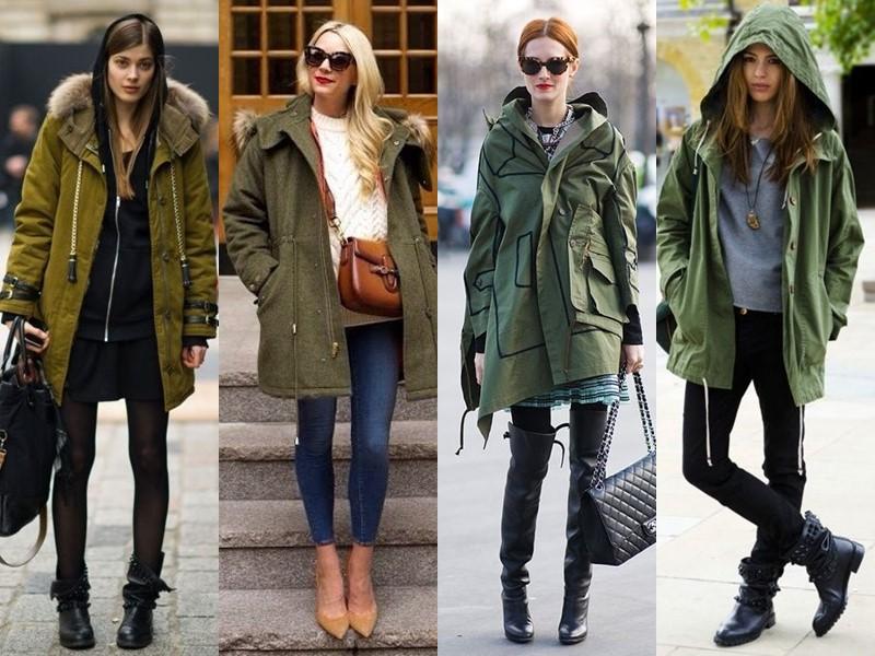 Тенденции в верхней одежде - боятся русские - Куртки и плащи-парки