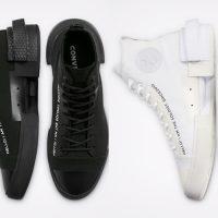 Converse x TheSoloist: белые и чёрные футуристичные кеды в продаже в России