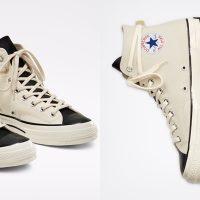 Converse x Fear of God ESSENTIALS: чёрные и белые кеды в стиле гранж