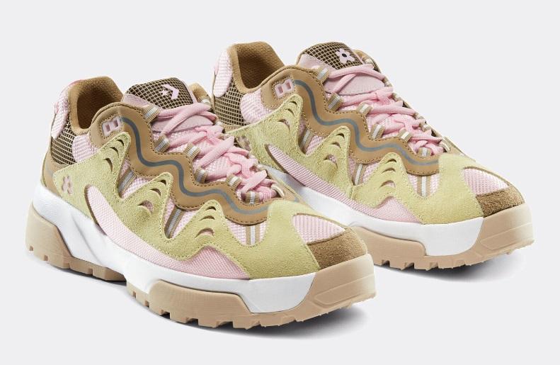 Новые расцветки кроссовок Converse GIANNO - бежево-розовый