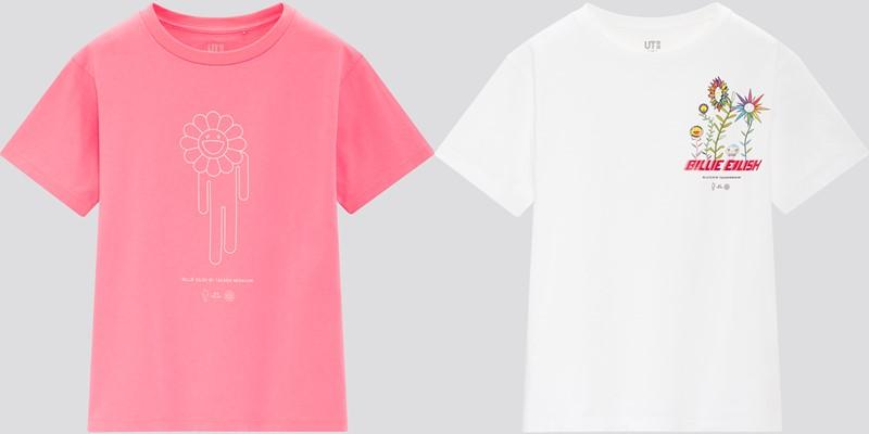 Детская коллекция футболок UT Billie Eilish x Takashi Murakami - 2