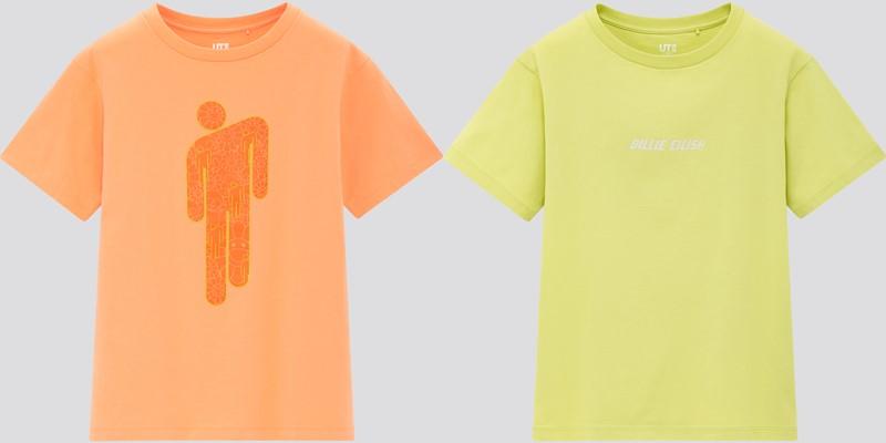 Детская коллекция футболок UT Billie Eilish x Takashi Murakami - 3