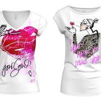 Коллекция футболок Marc Cain в рамках кампании What Made You Smile