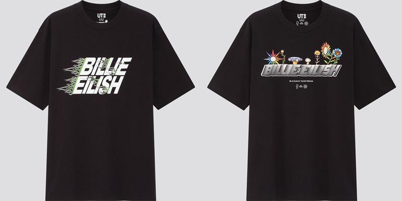 Мужская коллекция футболок UT Billie Eilish x Takashi Murakami - 1