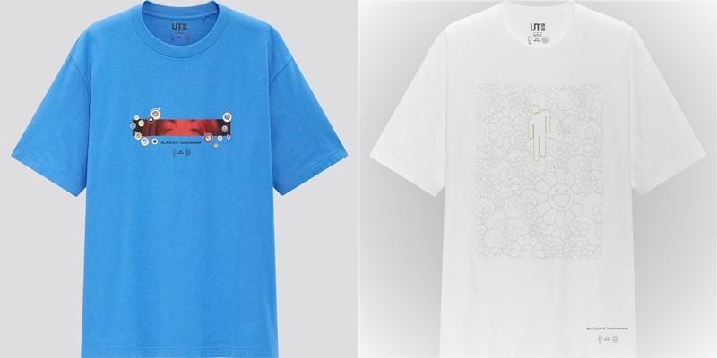 Мужская коллекция футболок UT Billie Eilish x Takashi Murakami - 2
