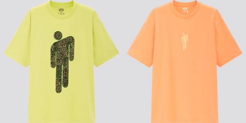 Мужская коллекция футболок UT Billie Eilish x Takashi Murakami - 3