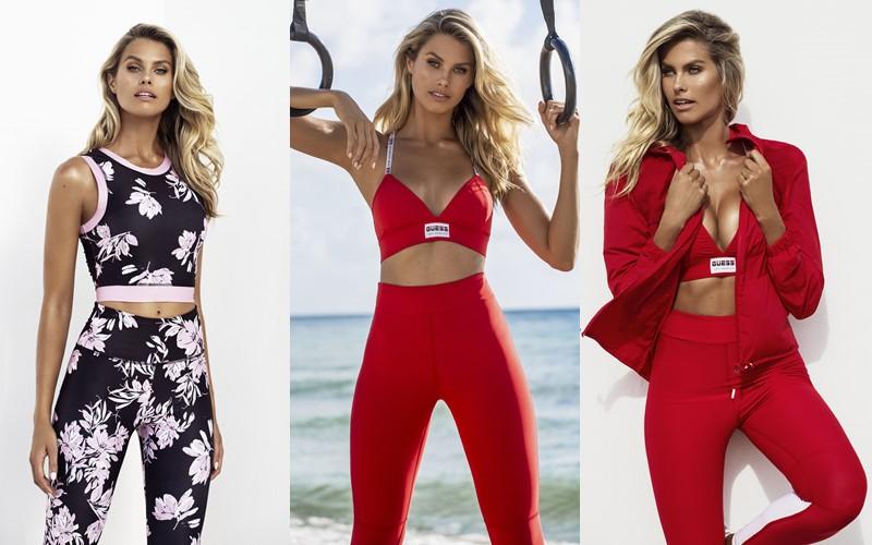 Рекламная кампания Guess Activewear весна-лето 2020 - 1