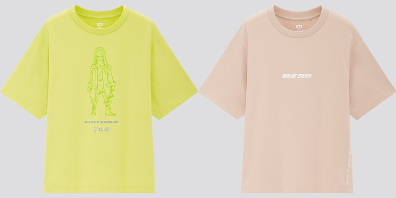 Женская коллекция футболок UT Billie Eilish x Takashi Murakami - 2