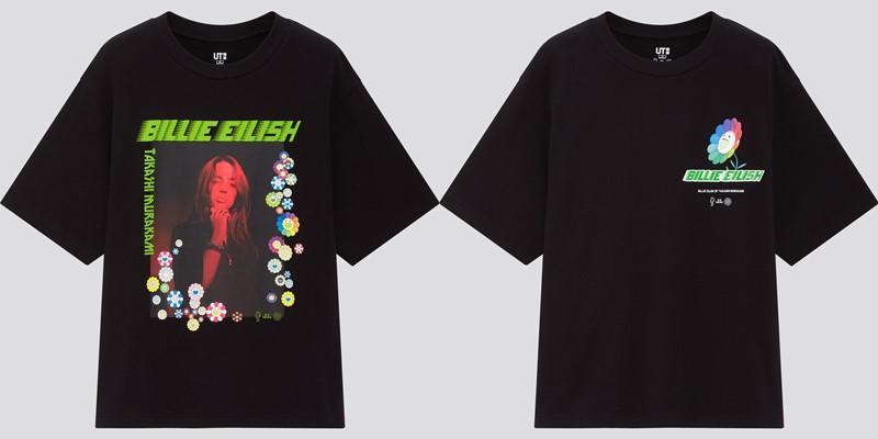 Женская коллекция футболок UT Billie Eilish x Takashi Murakami - 3
