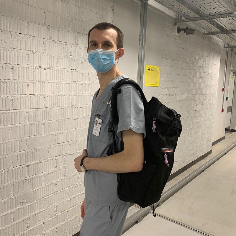 Корпорация Samsonite передала 300 рюкзаков American Tourister в  ГБУЗ «Городская больница №40»