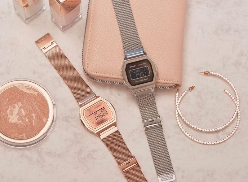 Сталь и розовое золото: коллекция женских часов Casio Vintage Premium