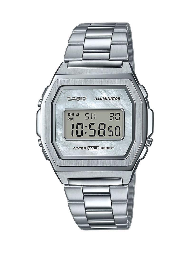 Коллекция наручных женских часов Casio Vintage Premium 2020 - сталь - модель A1000D-7EF