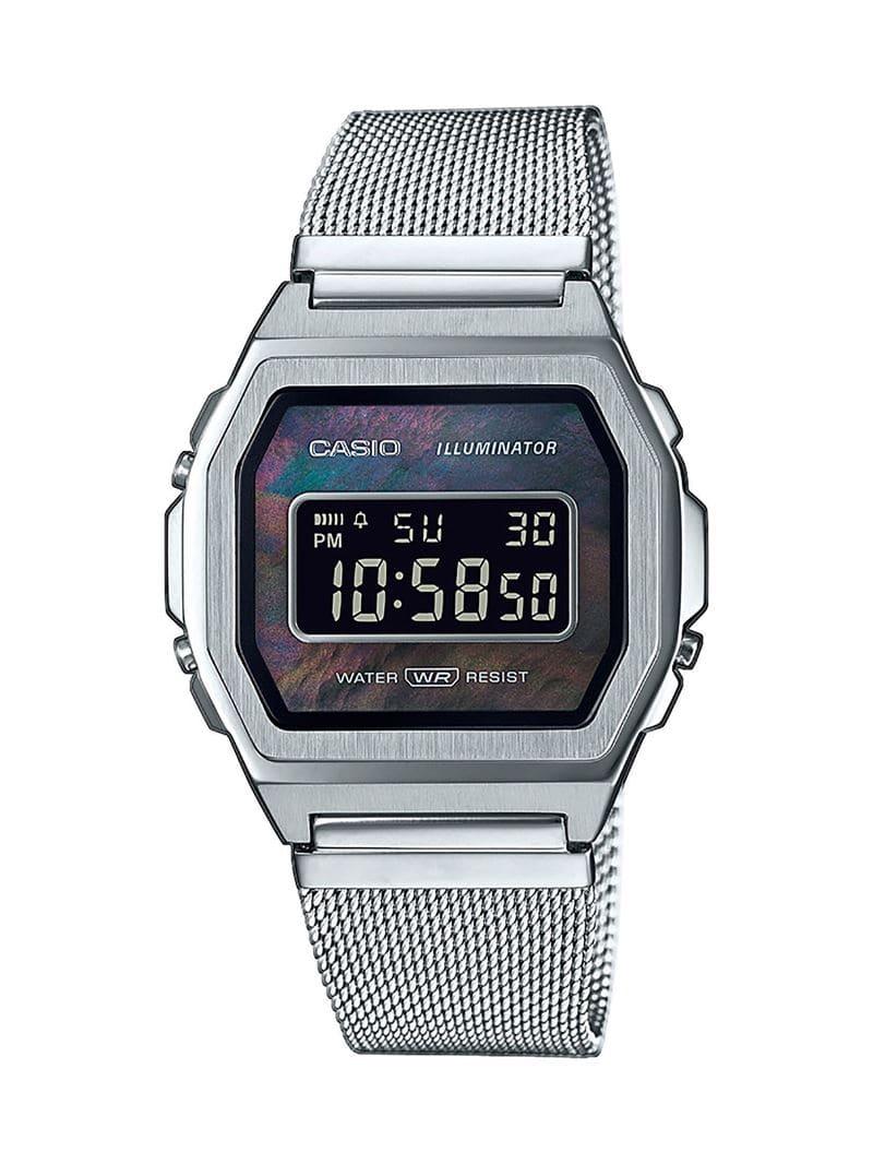 Коллекция наручных женских часов Casio Vintage Premium 2020 - сталь - модель A1000M-1BEF