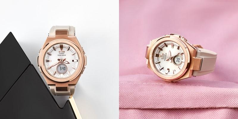 Новая модель женских часов G-MS от BABY-G