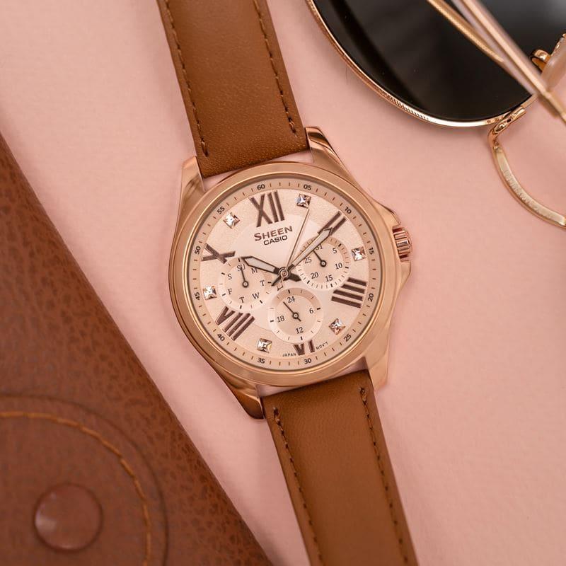 Алина Островская и Casio - новая модель часов бренда Sheen - фото 1