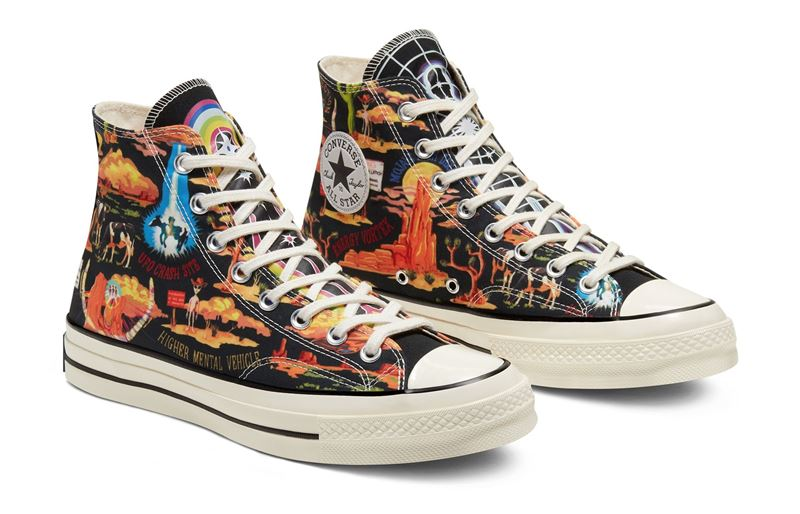 Новинка Converse: летняя коллекция кед Twisted Resort 2020 - Chuck 70 Twisted Resort High Top