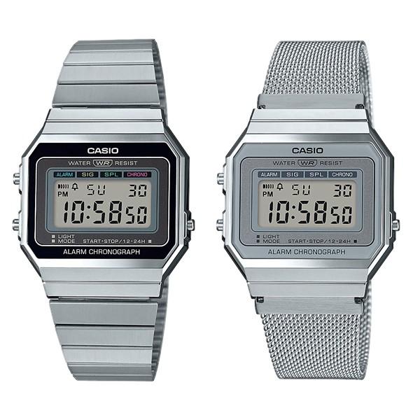 Ультратонкие и водонепроницаемые: новая коллекция часов Vintage от Casio  - серебристые