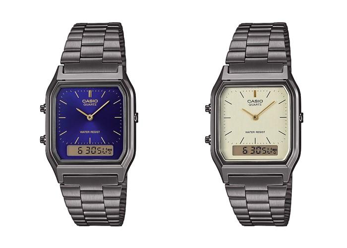 Casio: комбинированные аналогово-цифровые наручные часы Vintage